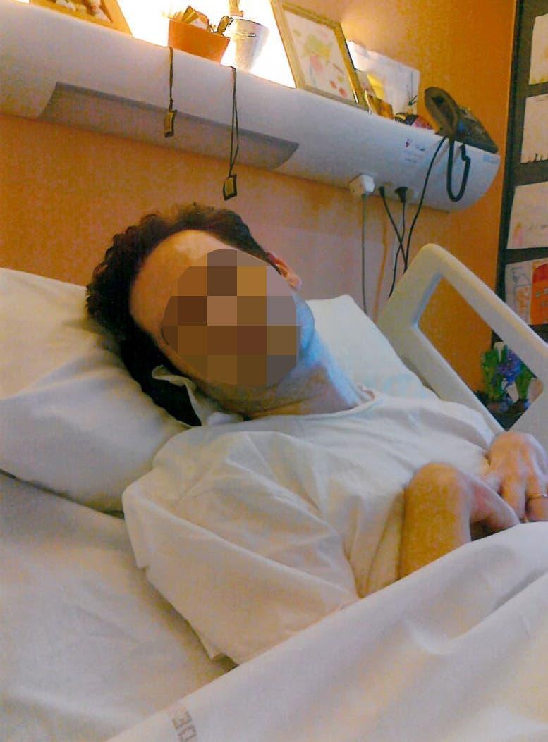 لامبير في المستشفى
