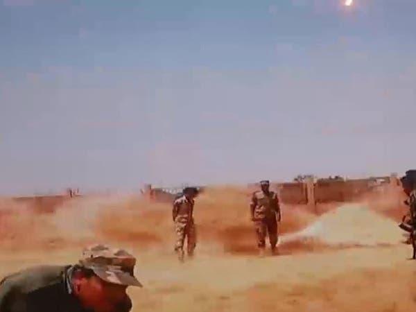 شاهد لحظة التفجير الذي استهدف المسماري في بنغازي