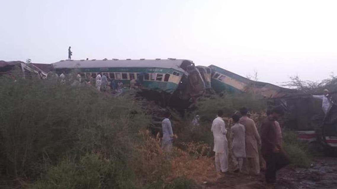 Pakistan: Train accident