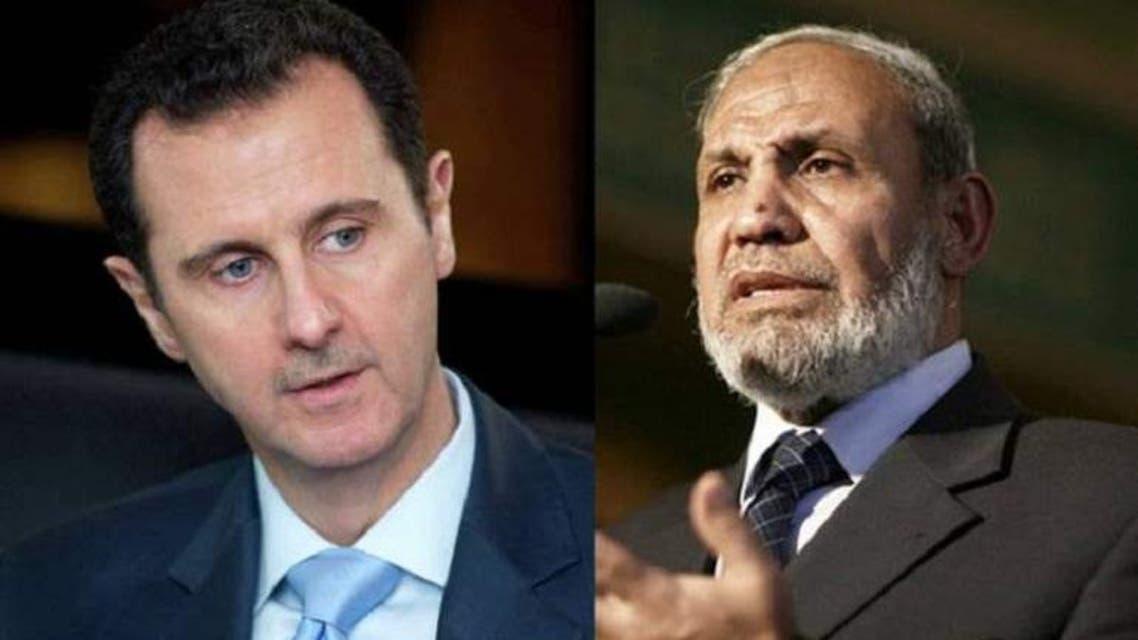 Mahmoud Alzahar and bashar ul asad