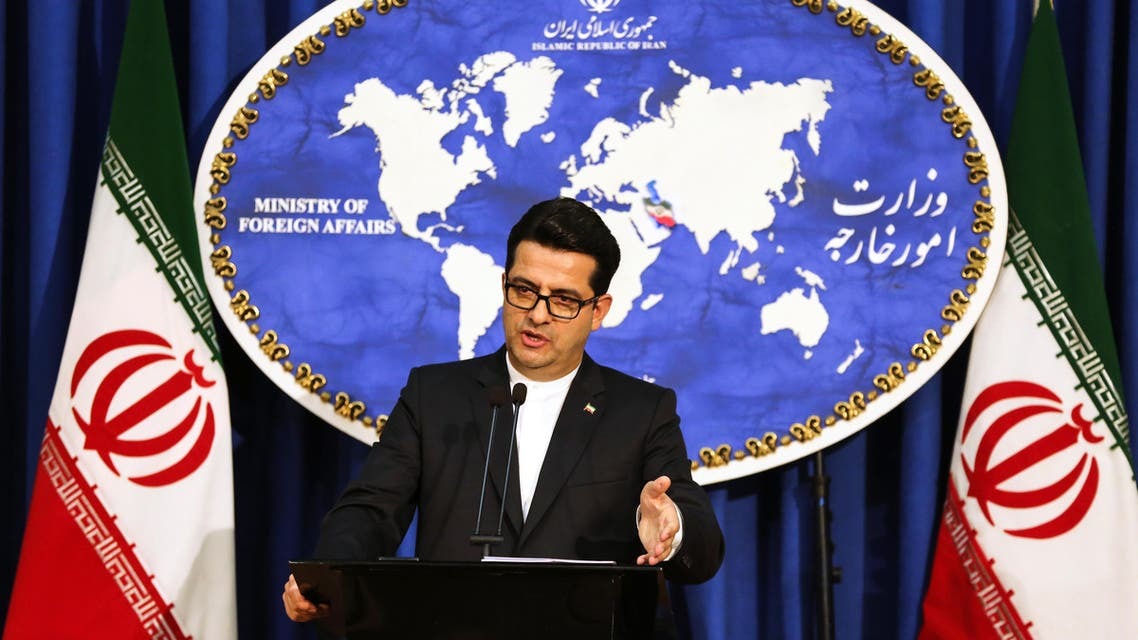 Iran's Abbas Mousavi - AFP
