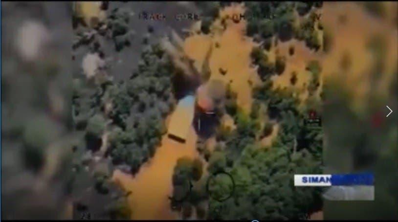 مواقع كردية للمعارضة الكردية الايرانية تم قصفها في العراق