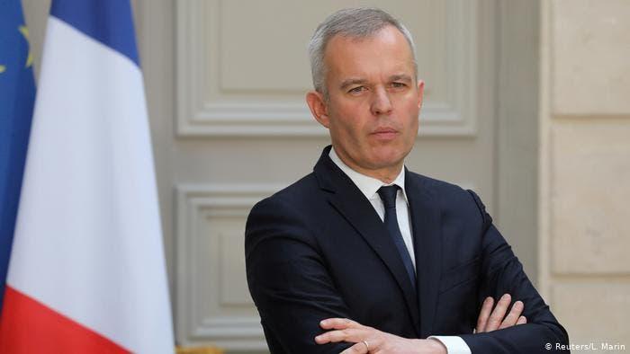 وزير البيئة الفرنسي