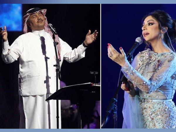 بعد 19 عاماً.. محمد عبده يغني للباحة وأنغام أول نجمة تغني على مسرحها