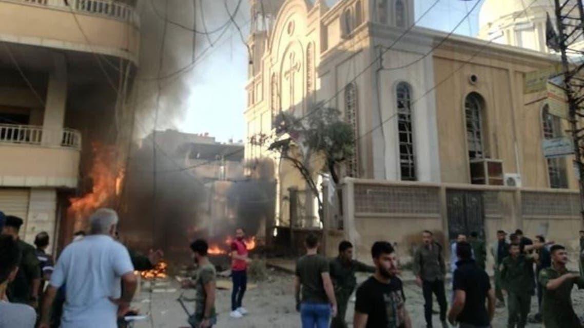 syria: blast pics