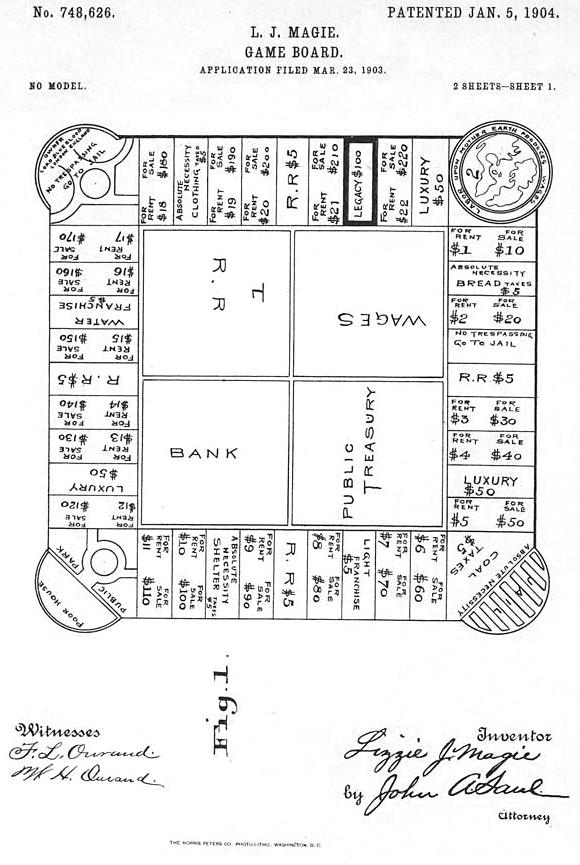 رسم للعبة Landlord's Game