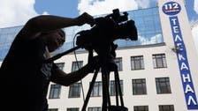 روسی صدر سے متعلق دستاویزی فلم چلانے کے اعلان پر یوکرائنی ٹی وی چینل پر بم حملہ