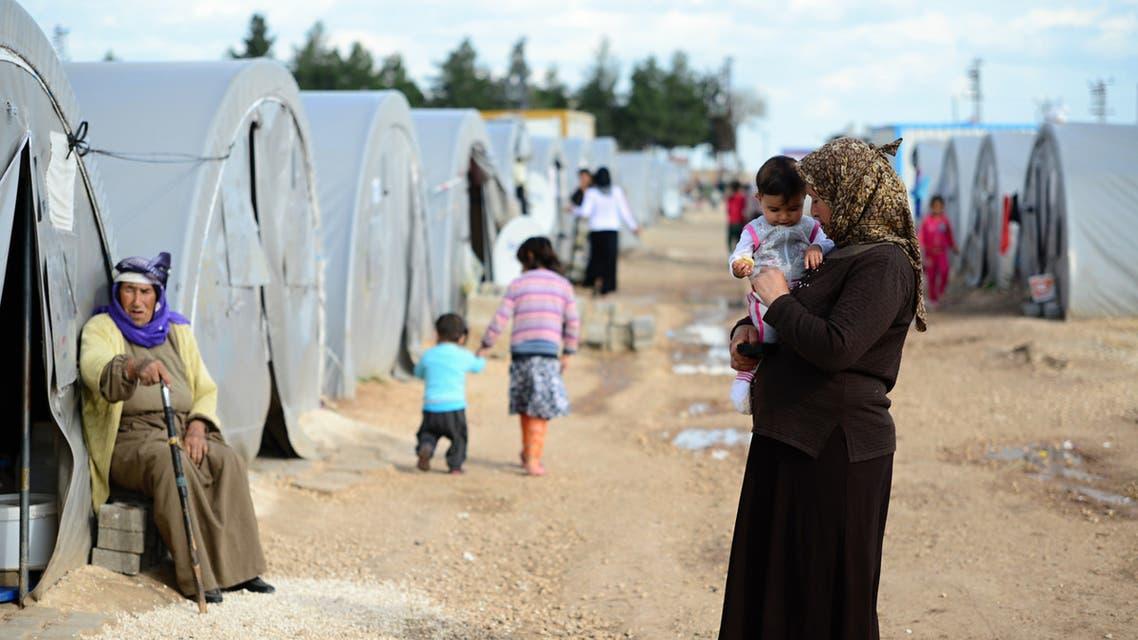 لاجئين سوريين في تركيا أرشيفية