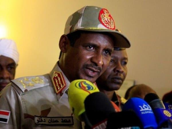 """حميدتي: لسنا أعداء قوى """"التغيير"""" في السودان"""