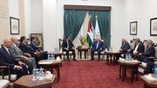 الوفد المصري يبحث مع محمود عباس ملفات السلام والتهدئة