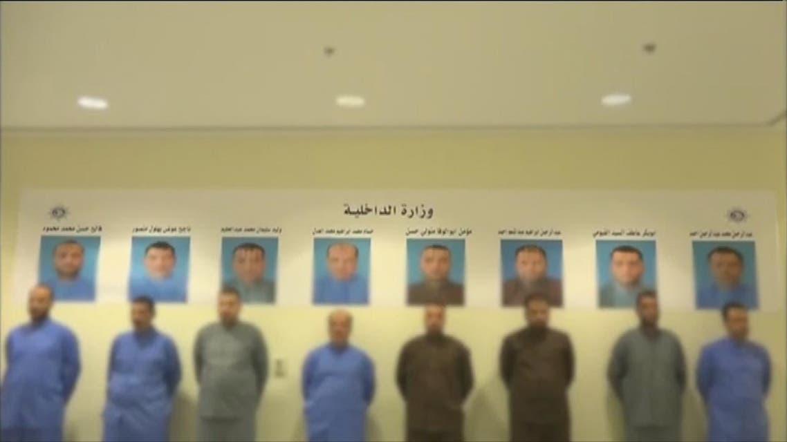 الكويت تسلم المتورطين في الخلية الإخوانية إلى مصر بعد اعترافهم بالتورط في عمليات إرهابية .
