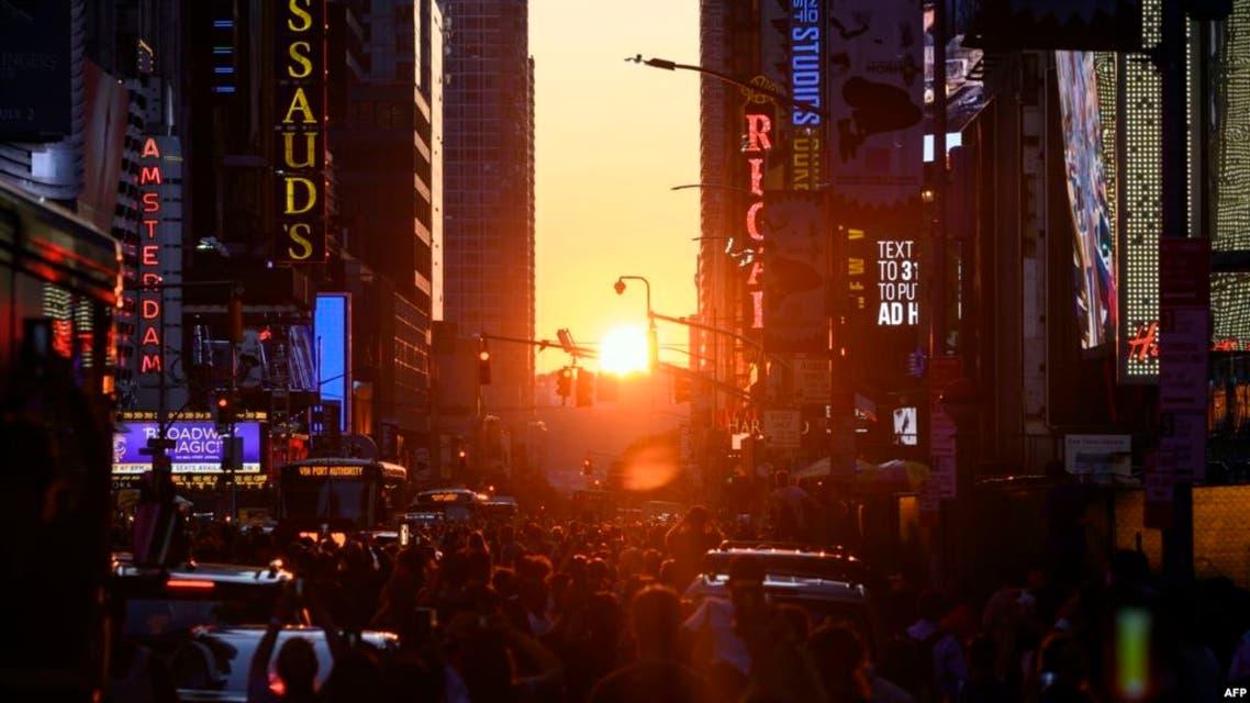 نيويورك مظلمة