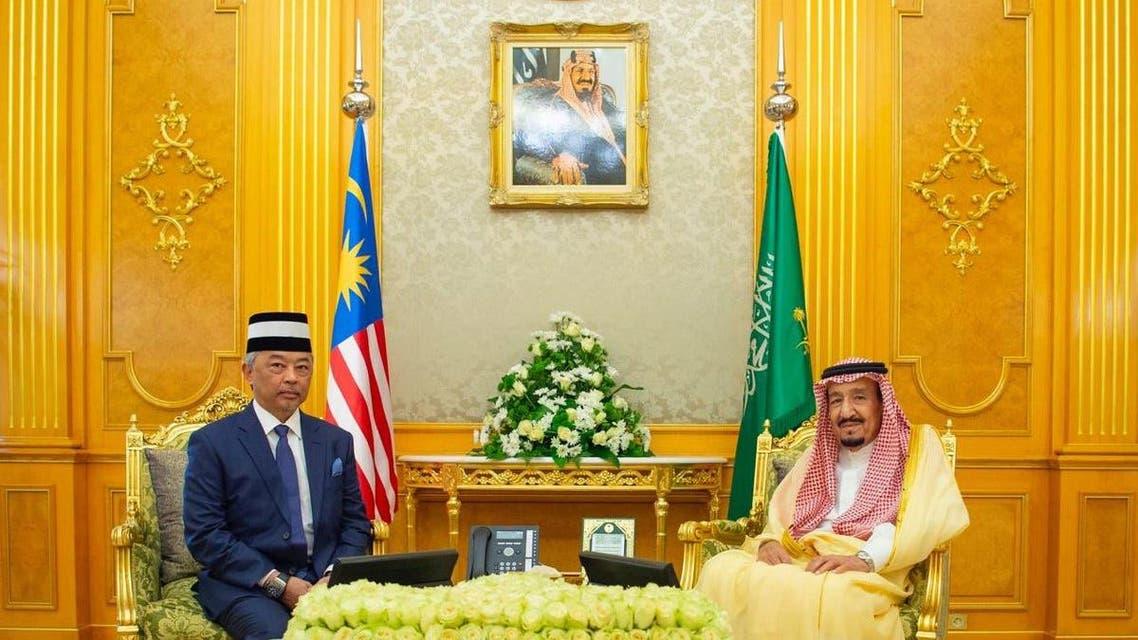 سعودی اور ملائیشین فرمانروائوں کی ملاقات