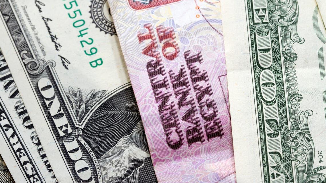 جنيه مصري دولار