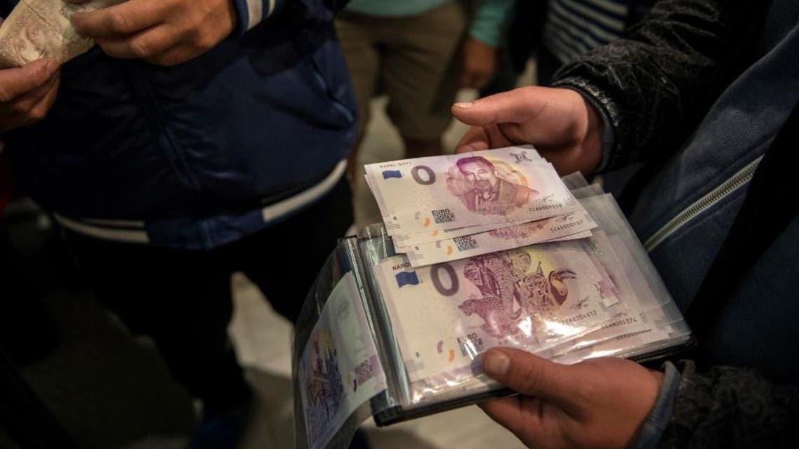 """""""Zero Euro"""" banknote AFP"""