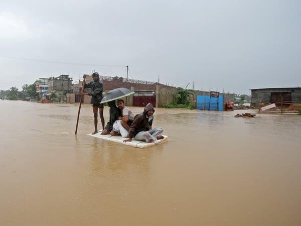 جنوب آسيا.. حصيلة الأمطار تتجاوز الـ100 قتيل