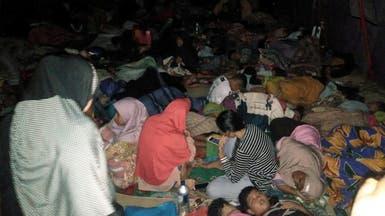 قتيلان ومئات المساكن المدمرة جراء زلزال إندونيسيا القوي