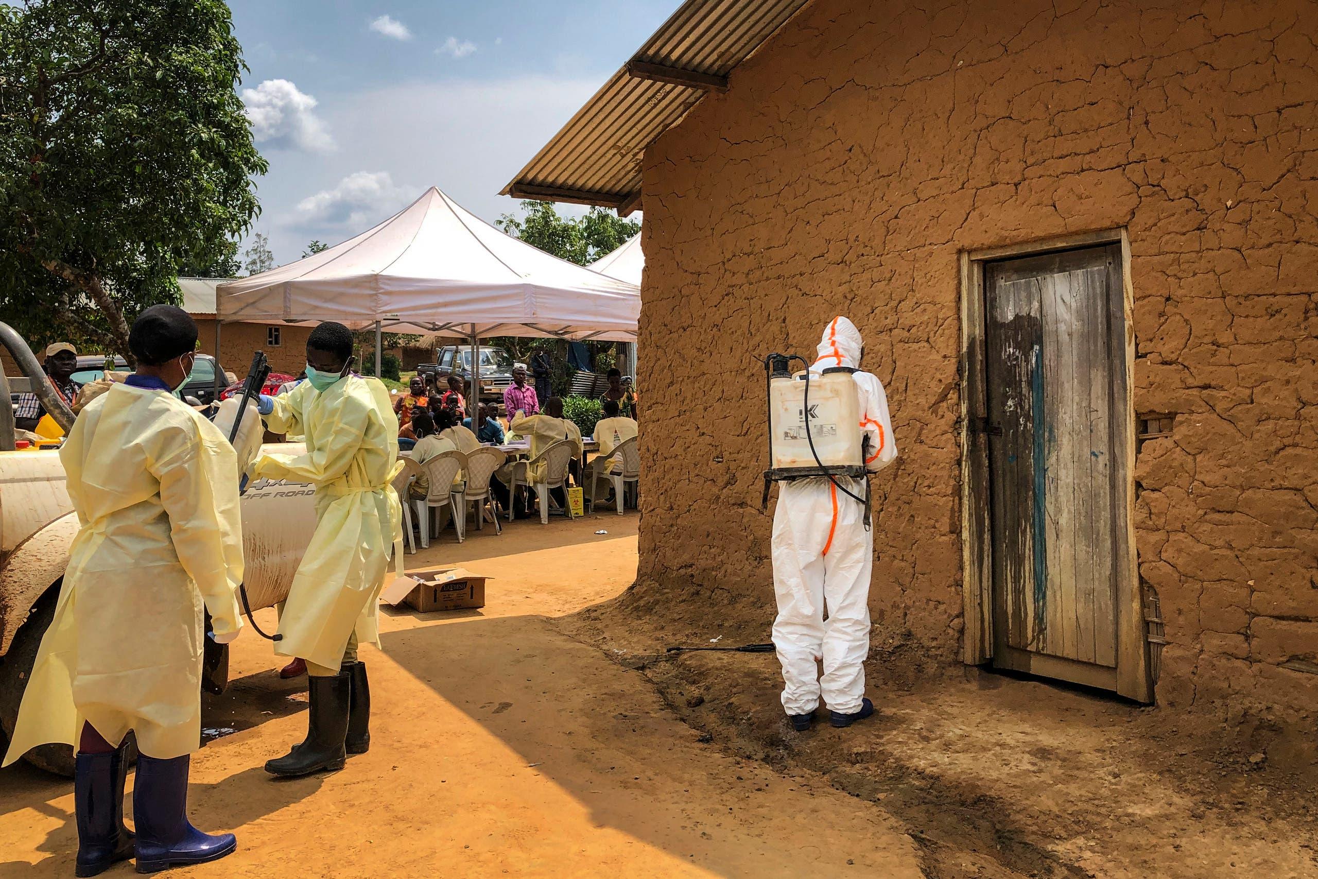 حملات مكافحة إيبولا في الكونغو (أرشيفية)