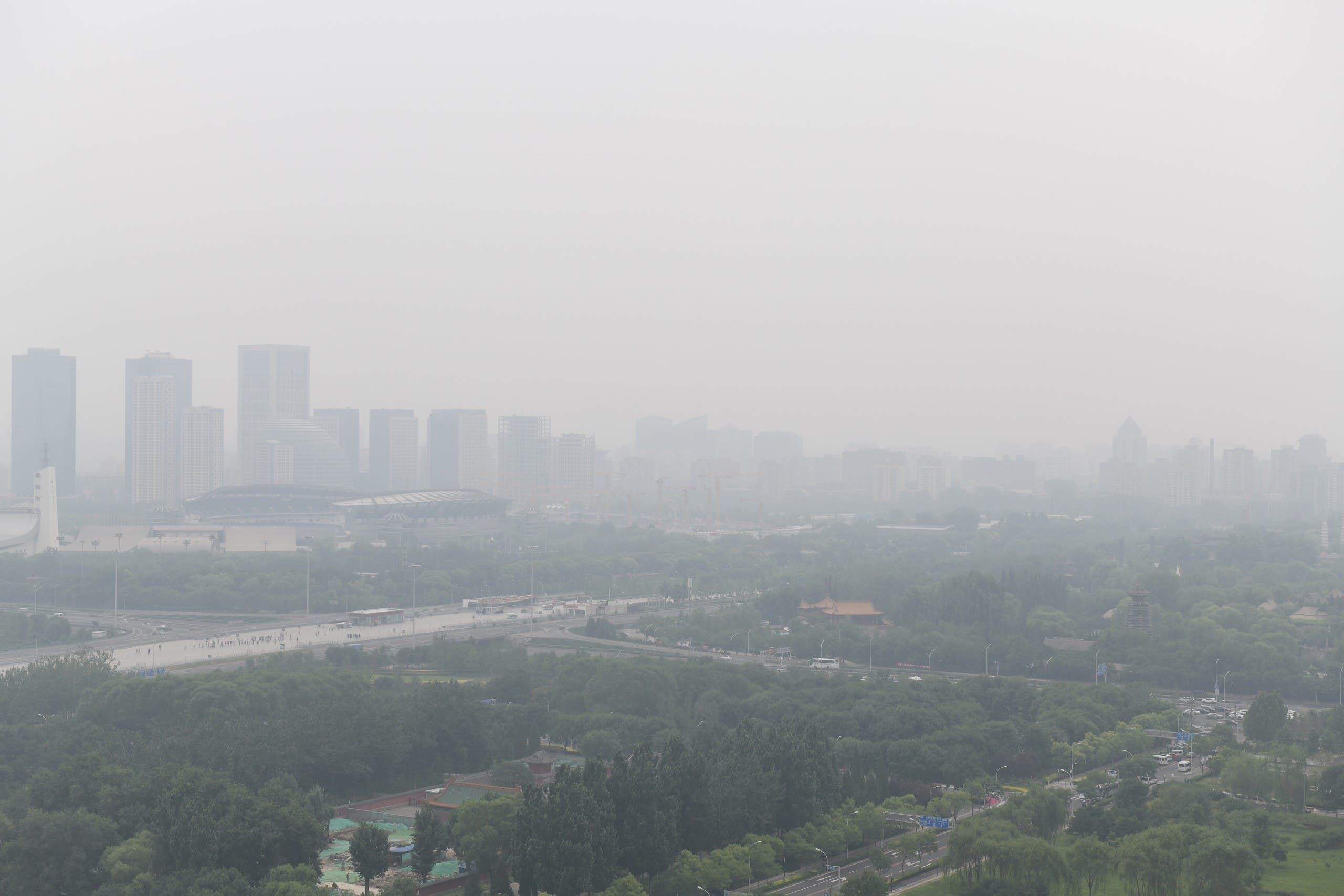 Yu Wensheng became well-known for suing the Beijing (pictured) government over the city's chronic air pollution. (File photo: AFP)