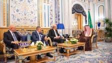 لبنان کے تین سابق وزرائےاعظم  کی شاہ سلمان سے ملاقات