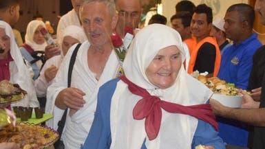 صور.. الحجاج في مكة قلوب مطمئنة ووجوه باسمة