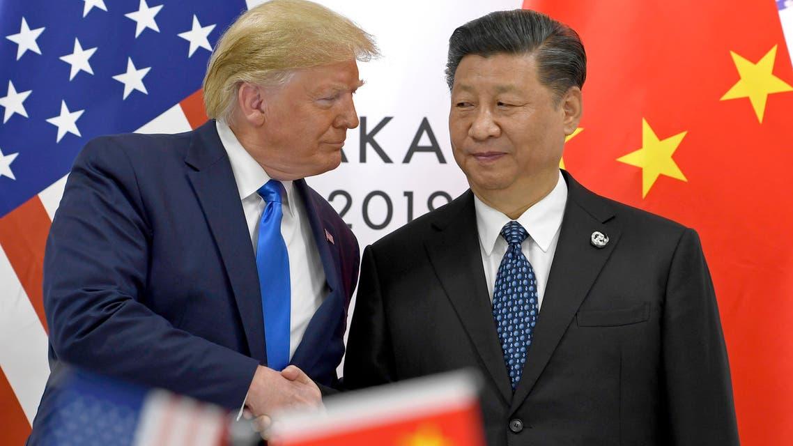 الرئيسان الأميركي والصيني