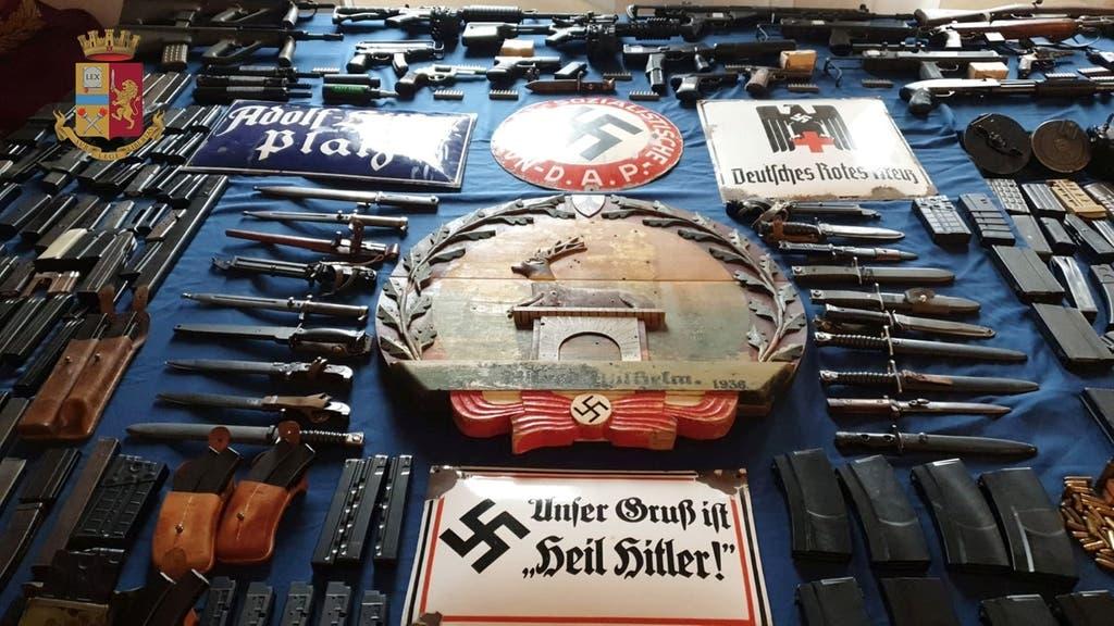 Qatar Itally neo-Nazi weapons - Reuters