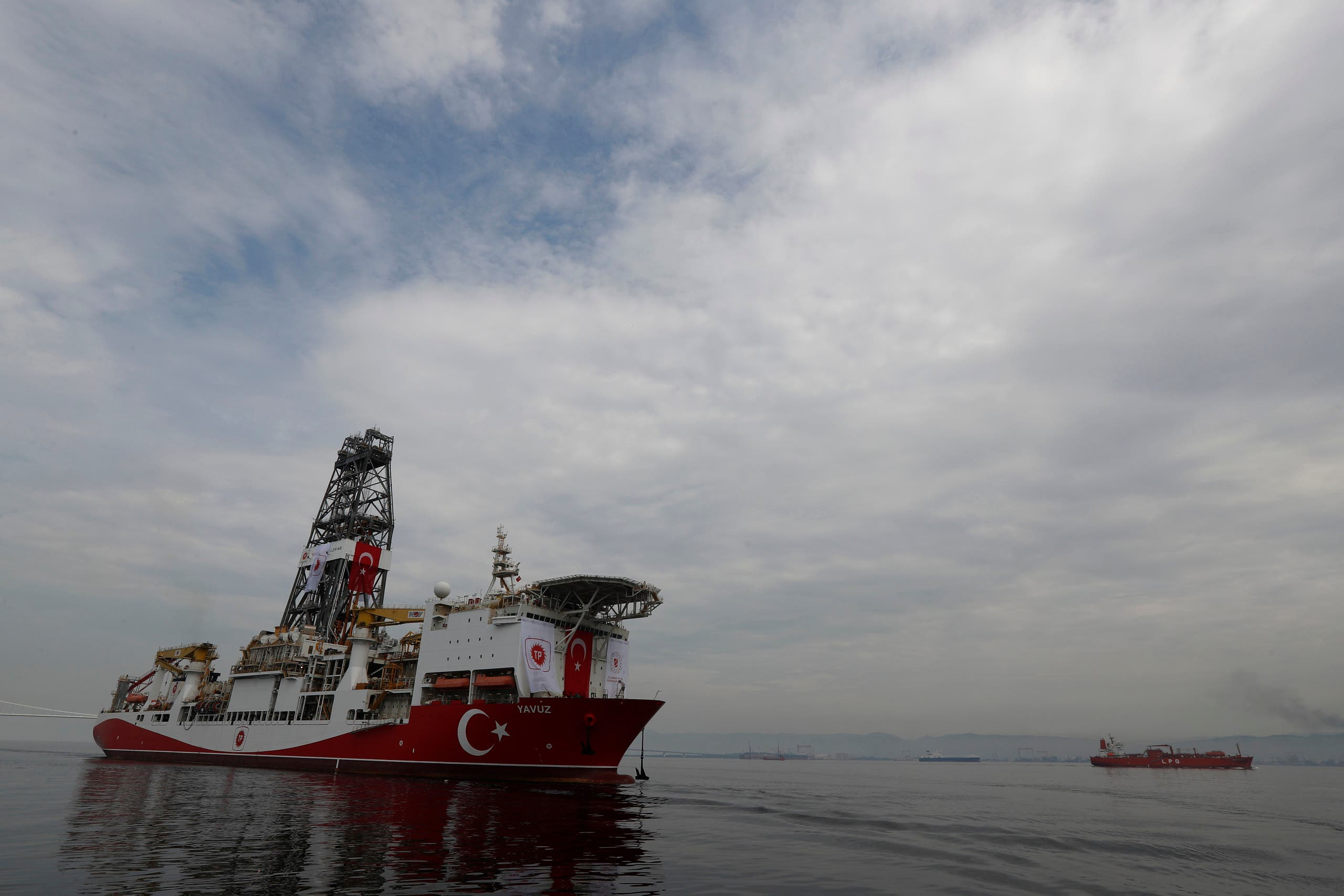 سفينة تركية للتنقيب عن الغاز