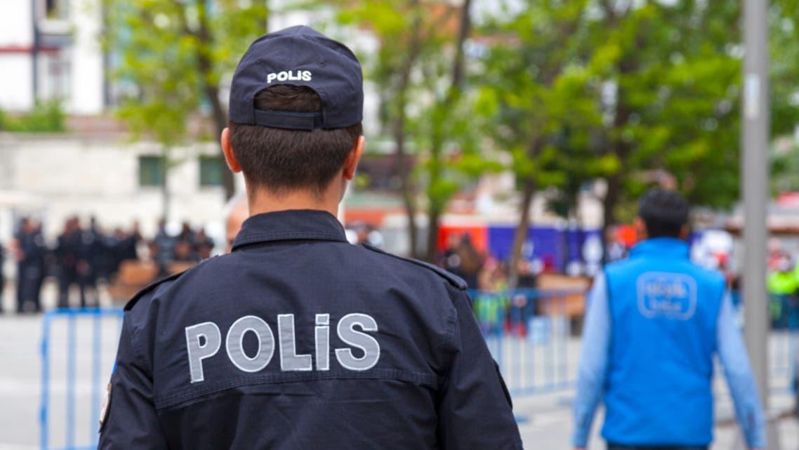 الشرطة التركية n