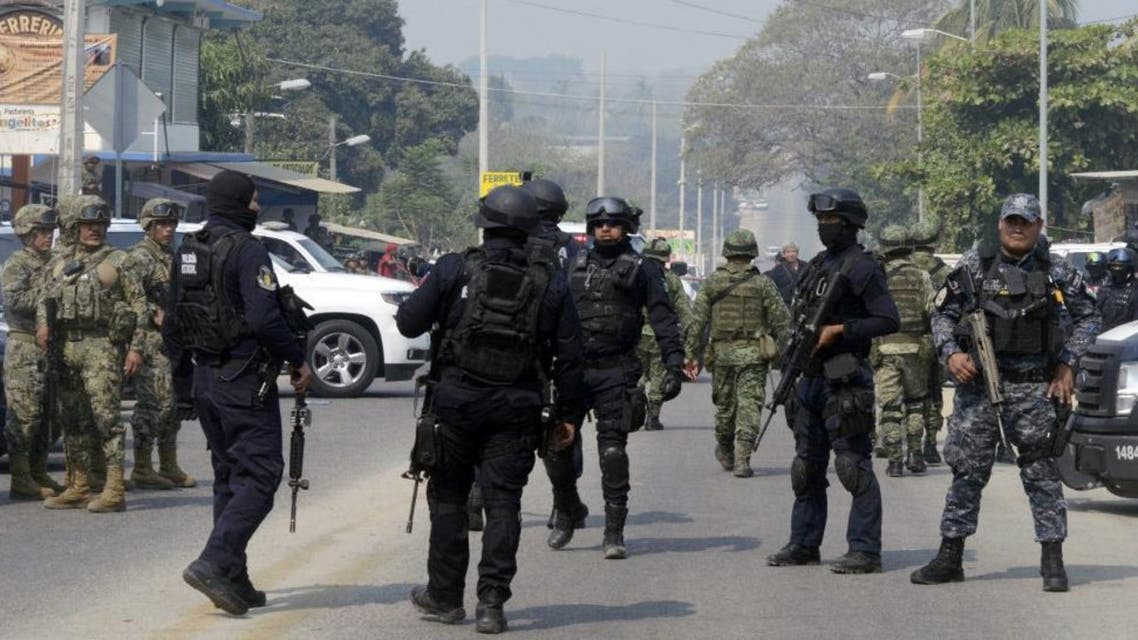 Mexico army AFP