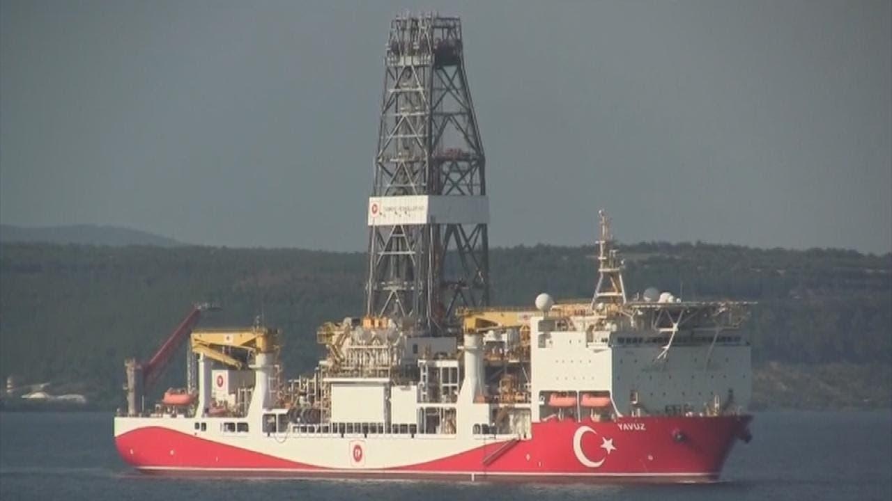 سفينة تنقيب تركية أمام سواحل قبرص