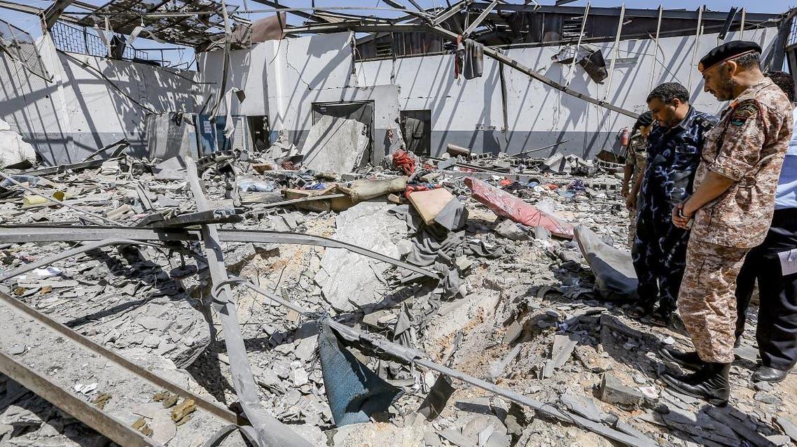 Libya violence. (AFP)