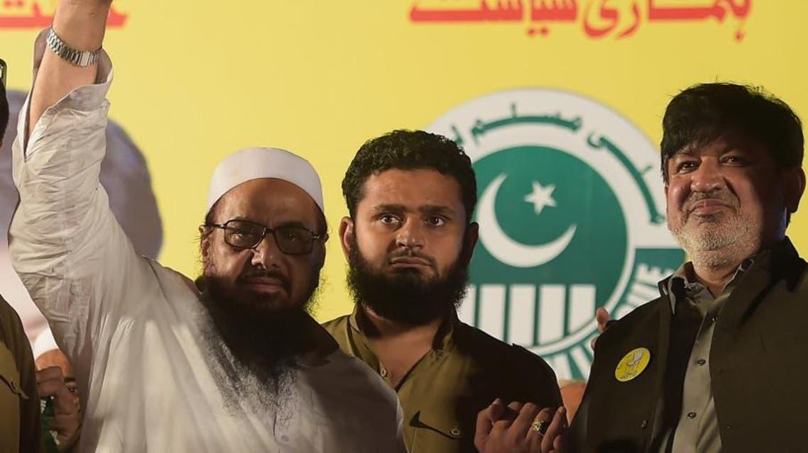 Hafiz Saeed AFP