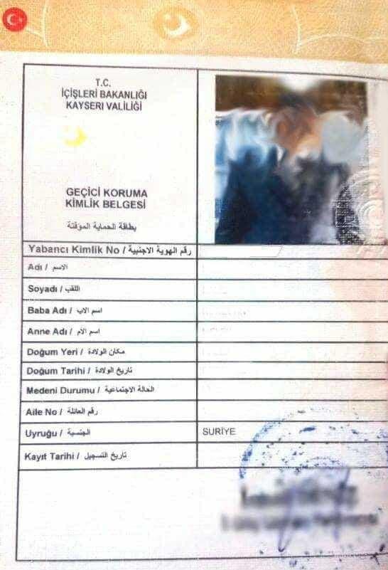 Kimlik - Turkish ID