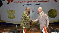 اجتماع عسكري مصري سوداني لتأمين الحدود ومواجهة الإرهاب