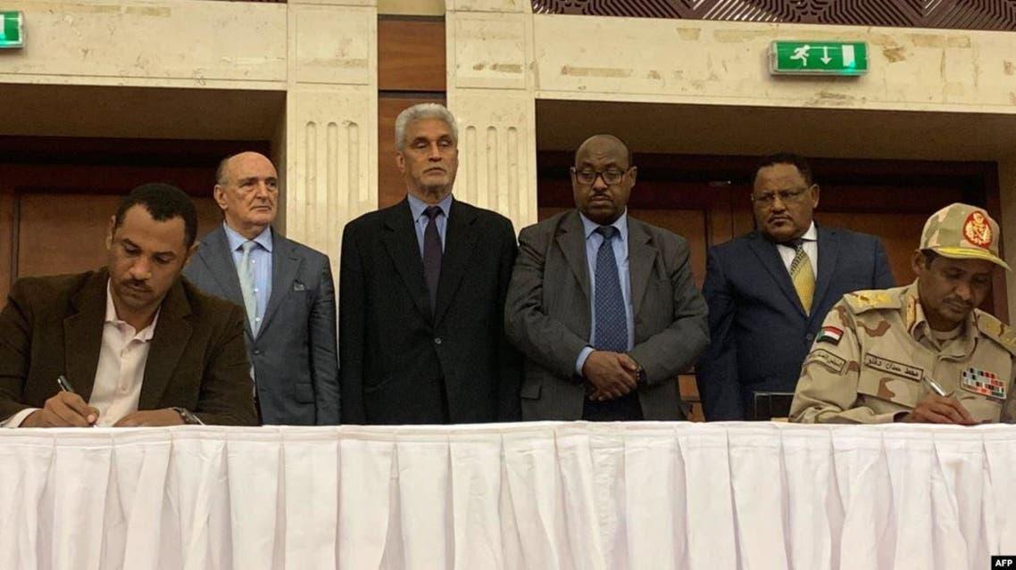 السودان توقيع الاتفاق