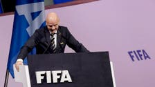 Infantino attends African soccer body meeting in Egypt amid scandal