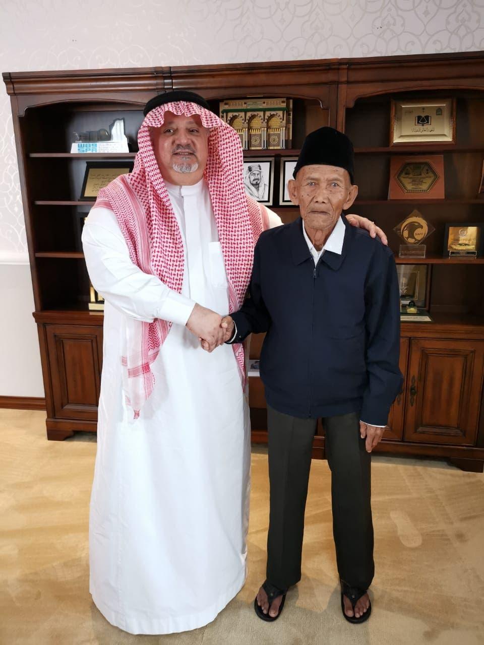 المعرم الإندونيسي والسفير السعودي