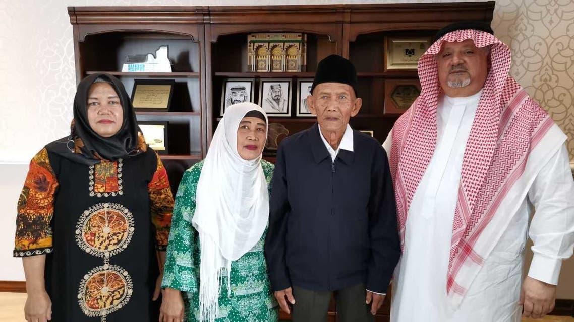 المسن الإندونيسي