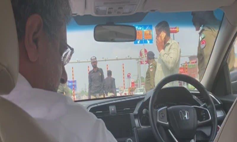عباسي قبل إعتقاله، صورة من الإعلام المحلي