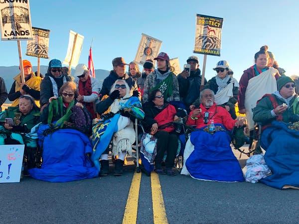 """""""مكان مقدس"""".. تليسكوب عملاق يفجر مظاهرات في أميركا"""