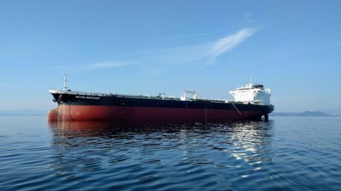 The British-operated, Liberian-flagged oil tanker Mesdar. (File photo)