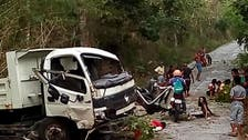 At least nine children dead, 16 hurt in Philippines truck crash