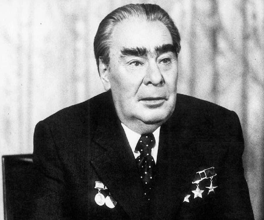 hلقائد السوفيتي ليونيد برجنيف