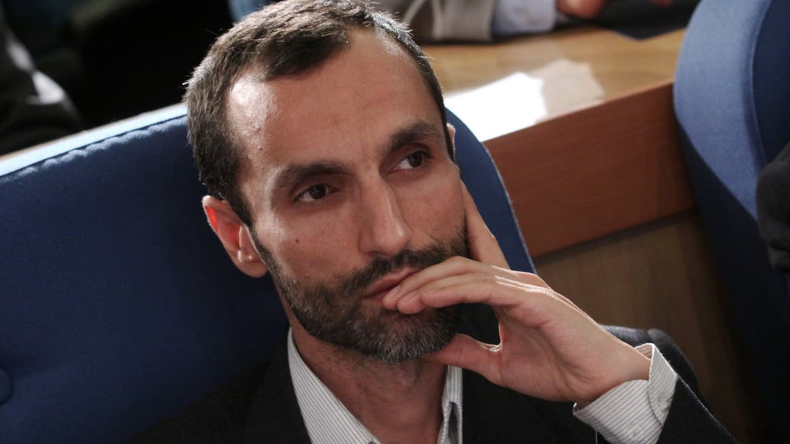 A file picture taken on September 27, 2010 shows Hamid Baghaie, former Vice President under Ahmadinejad, looking on during a conference in Tehran. A deputy of former Iranian hardline president Mahmoud Ahmadinejad announced on February 18, 2017 his decision to run in this year's presidential election, becoming the first candidate to contest the top job.