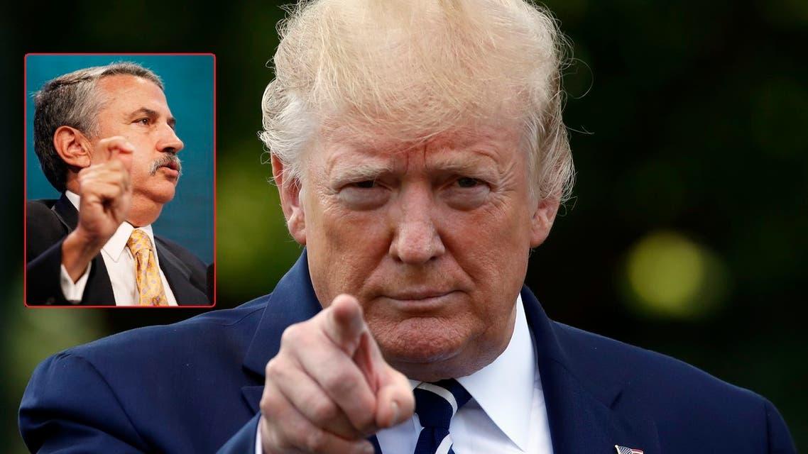 Trump Friedman ترمب فريدمان