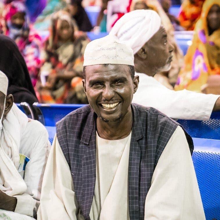 فرحة غامرة عاشها حجاج السودان لدى وصولهم ميناء جدة