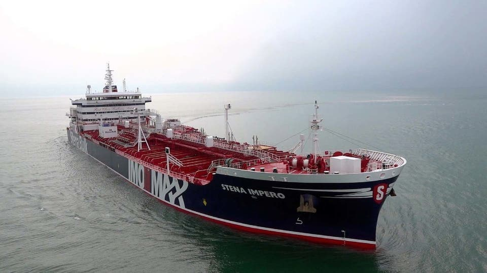 Iranian forces say they seized British-flagged oil tanker in