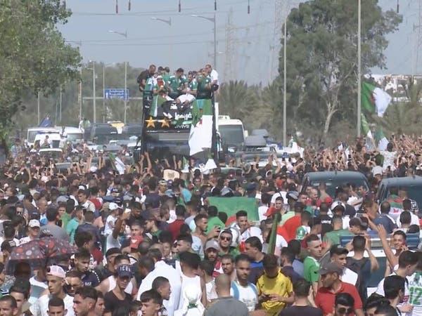 الجماهير الجزائرية تستقبل بطل إفريقيا