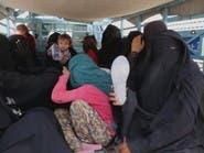 إحباط محاولة فرار لنساء داعش وأطفالهن من مخيم الهول